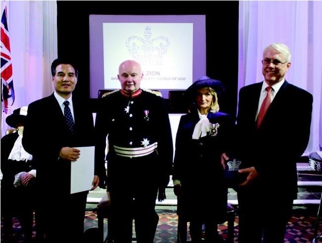 Dios Madre/El premio de la Reina del Reino Unido/Cristo Ahnsahnghong